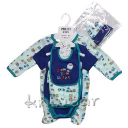 05 PCS Baby Gift Set Gift Set for Newborns Age 0 to 9 Month – A1672