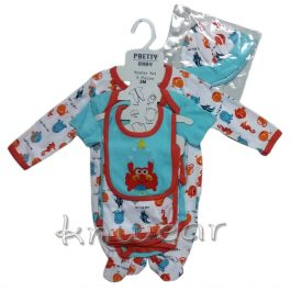 05 PCS Baby Gift Set for Baby Age 3 to 9 Month – A1679