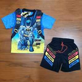 Batman Boy Shirt and Short Dress – A1951